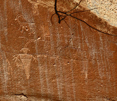 Photograph - Fremont Culture Rock Art In Utah by Jean Clark