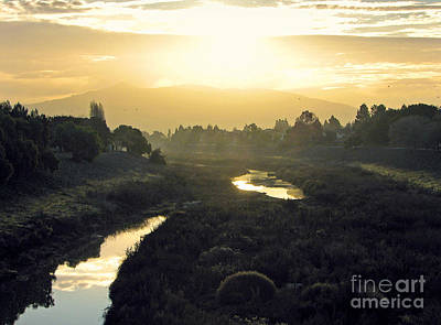 Art Print featuring the photograph Fremont Dawn by Ellen Cotton