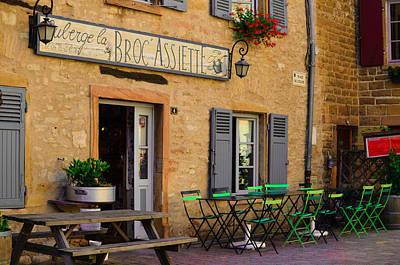 Photograph - French Auberge by Dany Lison