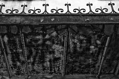 Photograph - French Balcony Architecture by Georgia Fowler