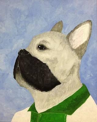 French Bull Dog Wall Art - Painting - French Bull Dog by Josh Heusinkveld