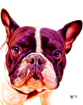French Bulldog Gifts Painting - French Bulldog Digital Art by Iain McDonald