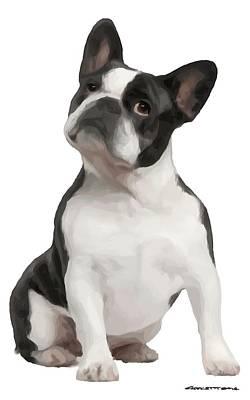 Digital Art - French Bulldog by Gabriel T Toro