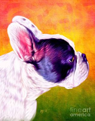 French Bulldog Gifts Painting - French Bulldog by Iain McDonald