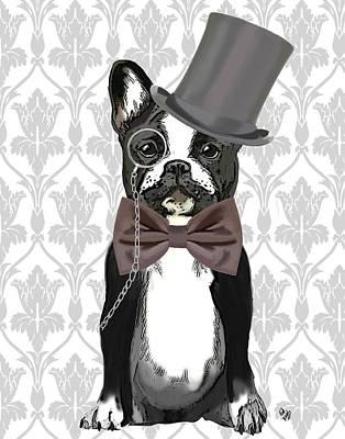 French Bulldog Monsieur Bulldog Art Print