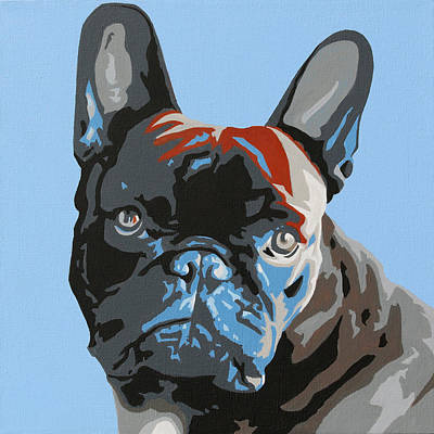 Painting - French Bulldog by Slade Roberts