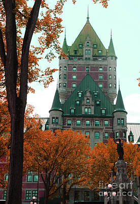 Photograph - French Canadian Hotel by Brenda Kean