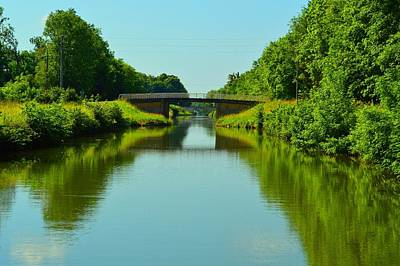 Wall Art - Photograph - French Canals In Summer by Jackie and Noel Parry