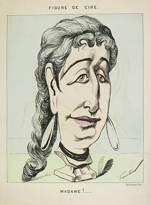 French Caricature- Figure De Cire: Madame Art Print