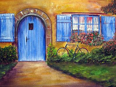 Painting - French Cottage by Loretta Luglio