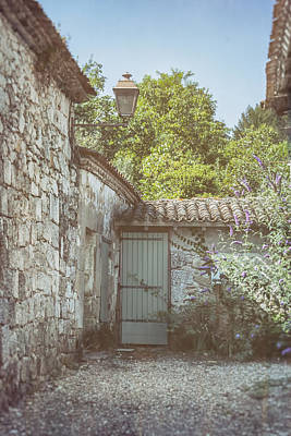 French Country Cottage Art Print by Georgia Fowler