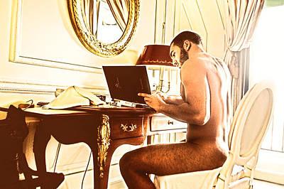 French Decision Desk Original by Azzedine Jamal