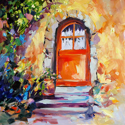French Door Art Print by Rae Andrews