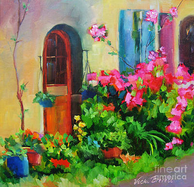 Painting - French Door by Vicki Brevell