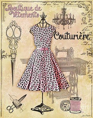 French Dress Shop-a Original