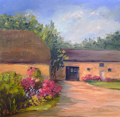 Painting - French Farmhouse   Loire Valley by Vikki Bouffard
