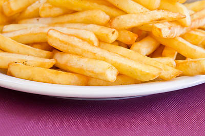 Fastfood Photograph - French Fries by Tom Gowanlock
