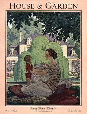 French Haute-bourgeois Domestic Scene Art Print