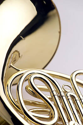 French Horn  Art Print by Jon Neidert