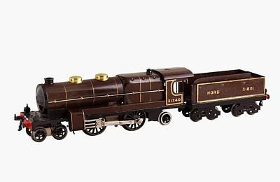 French Hornby 4-4-2 Nord Locomotive Art Print by Dorling Kindersley/uig