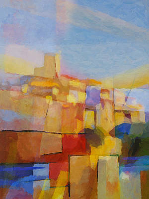 Lightscape Painting - French Impression by Lutz Baar