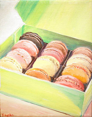 Painting - French Macaroons by Jennifer Lycke