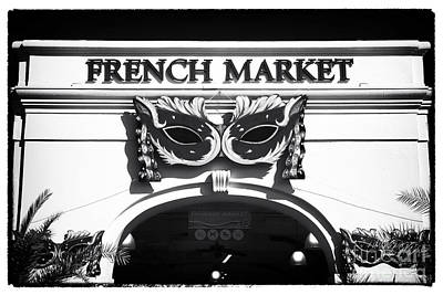 Photograph - French Market by John Rizzuto