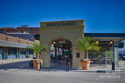 Photograph - French Market by Kay Pickens