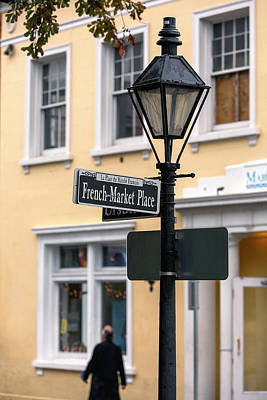 French Market Place Art Print