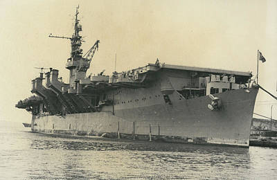 French Mediterranean Fleet Left Malta Art Print by Retro Images Archive