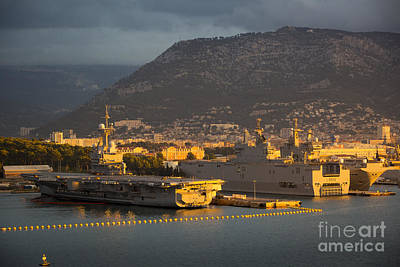 Photograph - French Navy - Toulon by Brian Jannsen