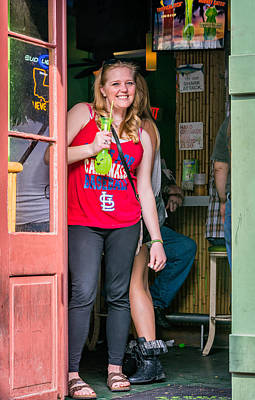New Attitudes Photograph - French Quarter - A Hand Grenade To Die For by Steve Harrington