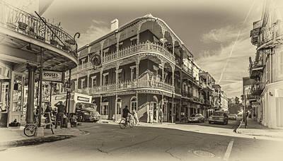 French Quarter Afternoon Sepia Art Print by Steve Harrington