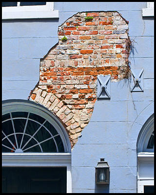 Art Print featuring the photograph French Quarter Architecture by Ray Devlin