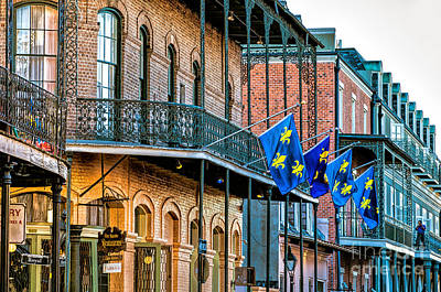 Photograph - French Quarter Architecture - St. Ann St. by Kathleen K Parker