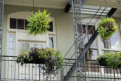 Photograph - French Quarter Balcony by Bradford Martin