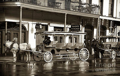 French Quarter Carriage Art Print