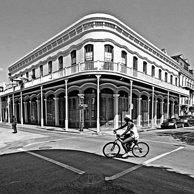 Andy Crawford Photograph - French Quarter Connection by Andy Crawford