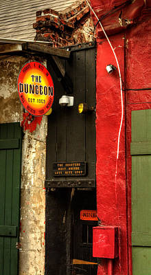 Photograph - French Quarter Dungeon by Chrystal Mimbs