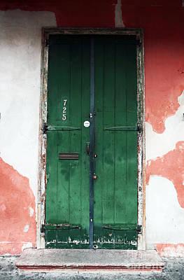 Photograph - French Quarter Green by John Rizzuto