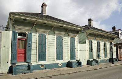 Photograph - French Quarter Houses by Bradford Martin