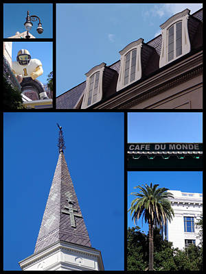Photograph - French Quarter Looking Up by Kathy K McClellan