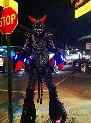 Photograph - French Quarter Monster by Saundra Myles