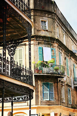 Photograph - French Quarter Morning by Heather Green