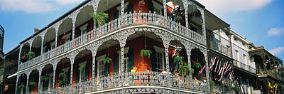 Orleans Photograph - French Quarter New Orleans La Usa by Panoramic Images