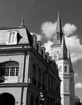 French Quarter - New Orleans Art Print by Mike Barch