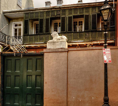 Orange Photograph - French Quarter Quarters by Chrystal Mimbs