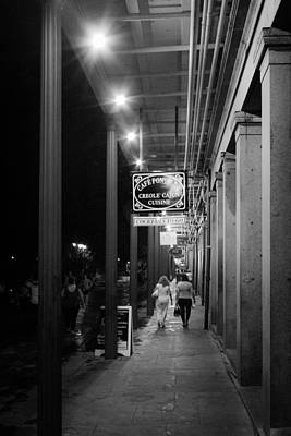 Photograph - French Quarter Shopping by Jeff Mize