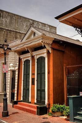 Shotgun Houses Wall Art - Photograph - French Quarter Shotgun by Chrystal Mimbs