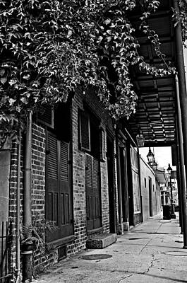 French Quarter Sidewalk Art Print